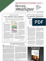 Le Monde Diploma Ti Que - Juin 2011