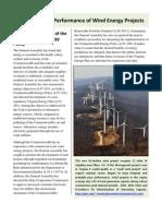 Wind Energy Performance Virginia