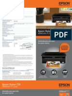 Manual de Epson Stylus T25
