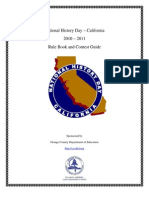 NHD CA Rulebook
