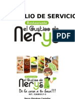Port a Folio de Servicios El Gustico de Nerys