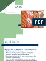 Teori Motif Batik