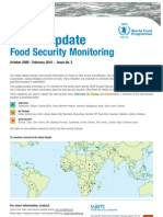 Global Update Food Security Monitoring