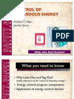 Control of Hazardous Energy-ppt