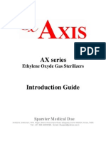 AXIS Eto Gas Sterilization System-Introduction Guide-2008
