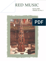 Sacred Music, 132.1, Spring 2005; The Journal of the Church Music Association of America