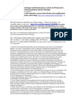 List. Annotations in German. Comments on > 50 Selected Publications. Environmental Science, Ecology.Discoveries, innovations.Cited in Germany by German scholars.
