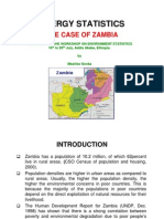 Session 08-4 Energy Statistics in Zambia (Zambia)