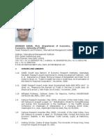 DrArindamBanik CV Academic