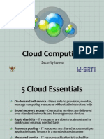 Cloud Computing - Security Issues