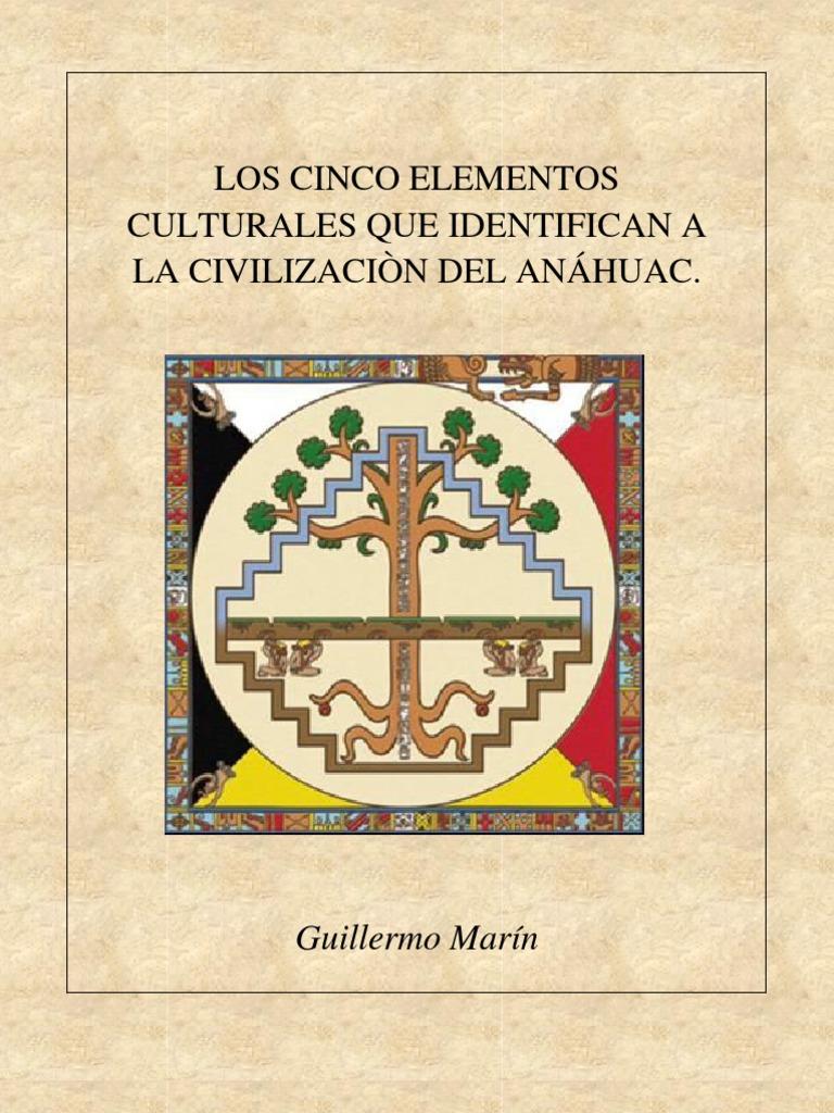 LOS SEIS ELEMENTOS CULTURALES QUE IDENTIFICAN A LA CIVILIZACIÓN DEL ANÁHUAC