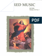 Sacred Music, 131.3, Fall 2004; The Journal of the Church Music Association of America