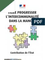 faire progresser l'intercommunalité dans la Manche - contribution de l'Etat - octobre 2009
