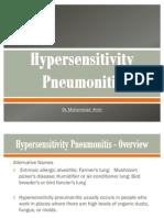 Hypersensitivity Pneumonitis Final