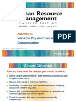 variable pay & comp