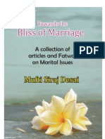 Towards the Bliss of Marriage  Vol 1