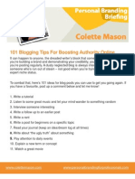 101 Blog Post Ideas to Boost Your Authority Online
