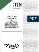 Dávila, C. y Moreno, M.A. Laboratorio rest. MAN. 1993