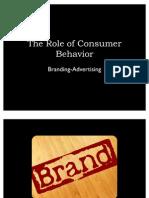 The Role of Consumer Behavior