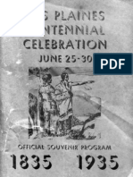 Des Plaines Centennial Celebration Booklet, 1935
