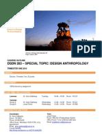Design Antropology Course