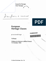 European Heritage Classes