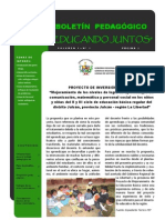 Boletin Pedagogico 1_PIP2011