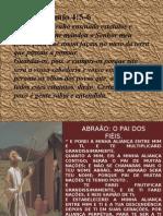 Abraão, Isaque e Jacó. Homens Do Convênio