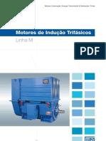 WEG Motor de Inducao Trifasico Linha m 50009359 Catalogo Portugues Br