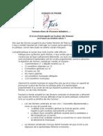 Dossier de Presse 13012012