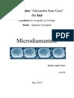 Microdiamante în rocile metamorfice