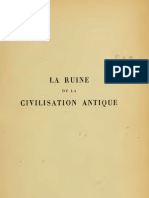 La Ruine de La Civilisation Antique