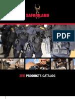 2011 Safari Land Duty Gear Catalog