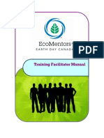 Eco Mentors Training Facilitator Manual