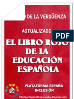 El Libro rojo de la Educacion Española