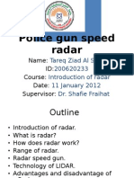 Radar Speed Gun