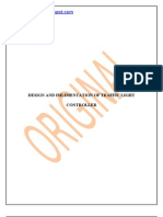 thesis for Design and Implimentation of Traffic Light Controller