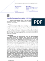High Performance Computing with Linux Clusters. National Conference – TRUBA Institute of Engineering & Information Technology, Bhopal, Madhya Pradesh. Research paper.