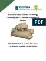 Save Program Guidelines-chiller 2012