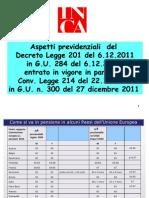 Decreto Monti x 9.1.12