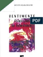 Sentimente fabricate in laborator, de Florentin Smarandache