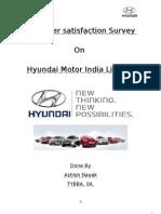 Customer Satisfaction Survey on HMIL