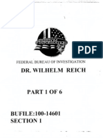 Wilhelm Reich - FBI Files 1