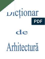 72496230-Dictionar-arhitectura