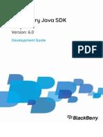 Blackberry Java SDK Development Guide 1244681 0730085420 001 6.0 US
