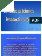 Metode Si Tehnici Iteractive de Grup