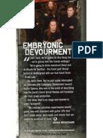 Write up in Terrorizer Magazine