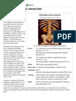 Abdominal Aortic Aneurysm - Wikipedia, The Free Encyclopedia
