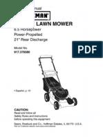 Lawn Mower Manual