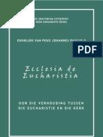 DOU Ensikliek Ecclesia de Eucharistia